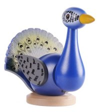 2014 Tour Bird nutcracker by Ulbricht - Peacock